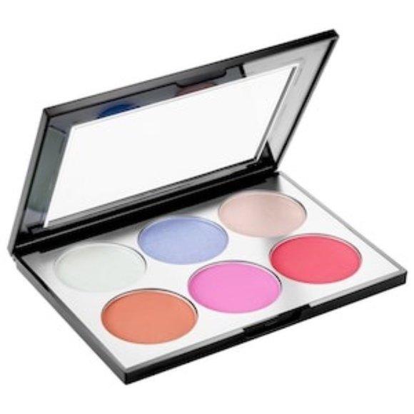 NIB SEPHORA  Holographic Face & Cheek Palette